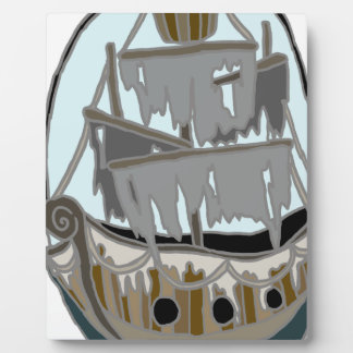 Ghost Ship Plaque