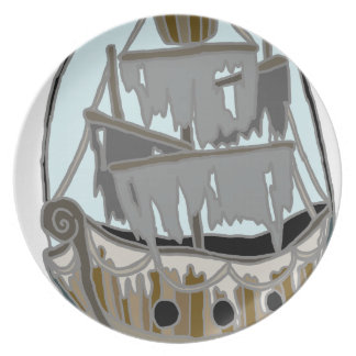 Ghost Ship Plate