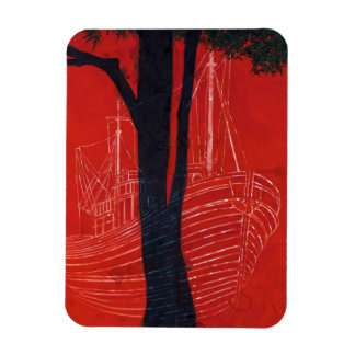 Ghost Ship Two 2013 Rectangular Photo Magnet