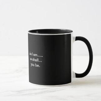 ghost skelaton mug