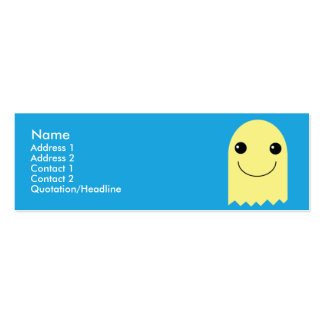 Ghost - Skinny Business Card Template