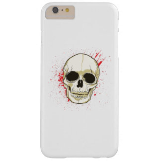 Ghost Skull Face Halloween Spooky Gif Barely There iPhone 6 Plus Case