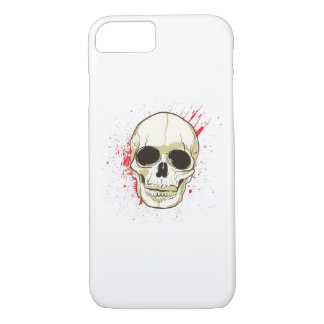 Ghost Skull Face Halloween Spooky Gif iPhone 8/7 Case