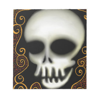 Ghost Skull Notepads