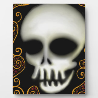 Ghost Skull Plaque