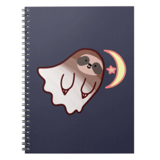 Ghost Sloth Notebook
