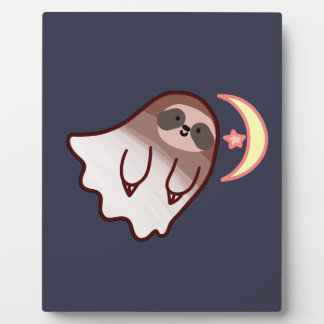 Ghost Sloth Plaque
