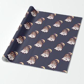Ghost Sloth Wrapping Paper