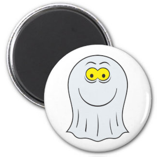 Ghost Smiley Face Magnet
