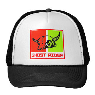 ghost to rider trucker hats