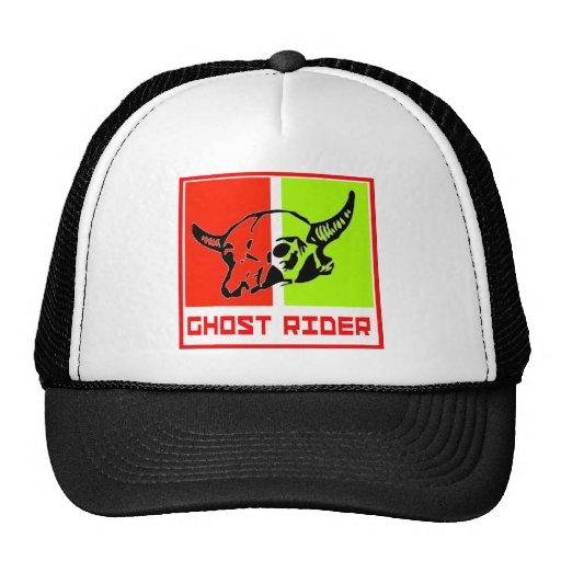 ghost to rider trucker hats