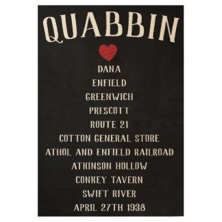 Ghost Towns Quabbin Poster
