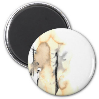 Ghost Trees 1 6 Cm Round Magnet