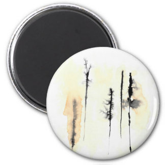 Ghost Trees 4 Magnet