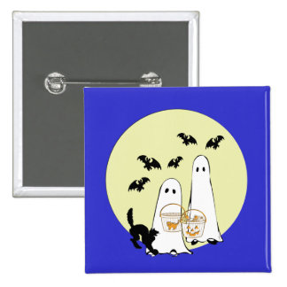 ghost Trick or Treat Pins