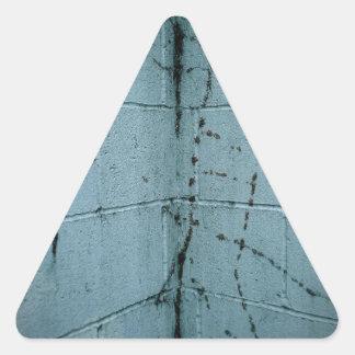 Ghost Vines Triangle Sticker