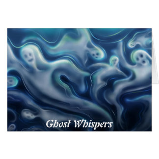 Ghost Whispers - Miss You Greeting Card
