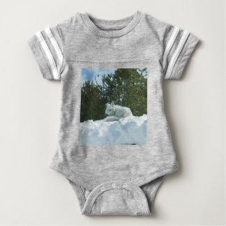Ghost Wolf Baby Bodysuit
