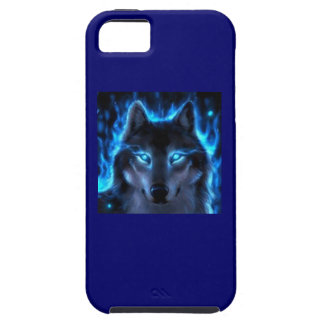Ghost Wolf Cell Phone Cover