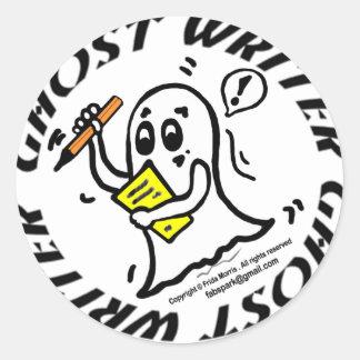 Ghost Writer Sticker