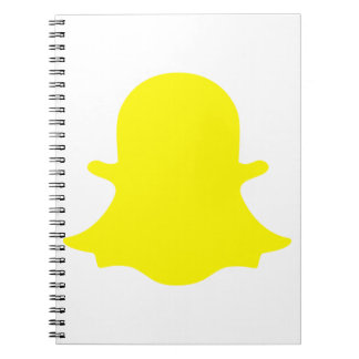 Ghost - Yellow Notebook