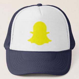 Ghost - Yellow Trucker Hat