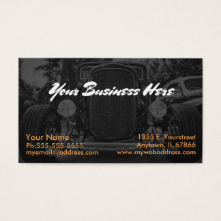 Ghosted Coupe Business Card
