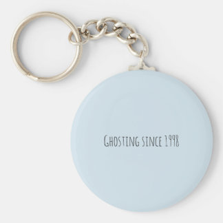 ghosting since 1998 key ring