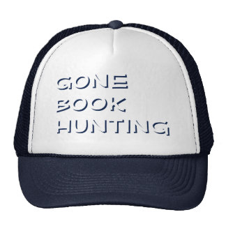 Ghostly Book Hunting Hat