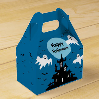 Ghostly Halloween Favour Box