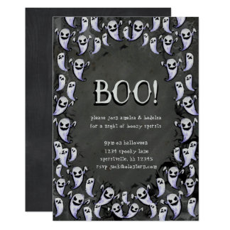 Ghostly Halloween Party Invitation
