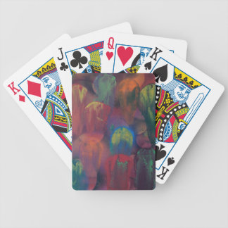 Ghostly Jellyfish Bicycle Playing Cards