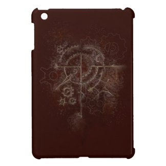 Ghostly SteamPunk Motif Case For The iPad Mini