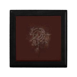 Ghostly SteamPunk Motif Gift Box