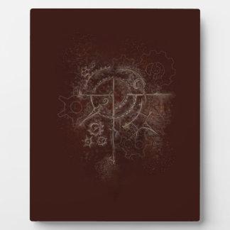 Ghostly SteamPunk Motif Plaque