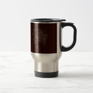Ghostly SteamPunk Motif Travel Mug