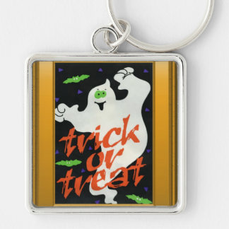 Ghostly Trick or treat Key Chains