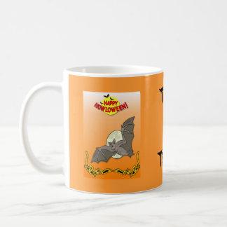 Ghostly Trick or treat Coffee Mugs