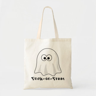 Ghostly Trick-or-Treat Tote