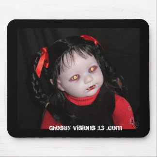 Ghostly Visions 13 halloween horror doll Mouse Pad