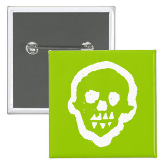 Ghostly Voodoo Square Button