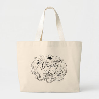 Ghostly Wail Large Tote Bag