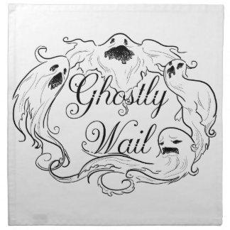 Ghostly Wail Napkin