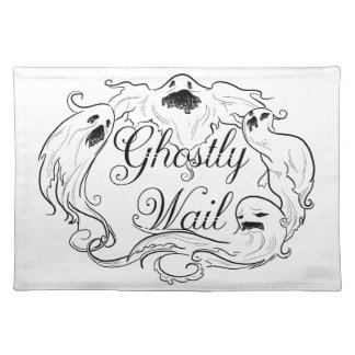 Ghostly Wail Placemat