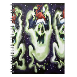 Ghostly Xmas Trio Notebooks