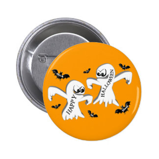 Ghosts and Bats Pinback Button