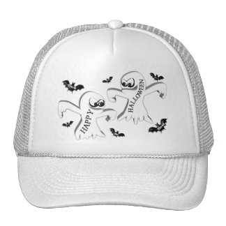 Ghosts and Bats Mesh Hats