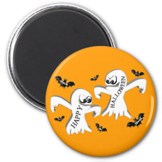 Ghosts and Bats Refrigerator Magnets