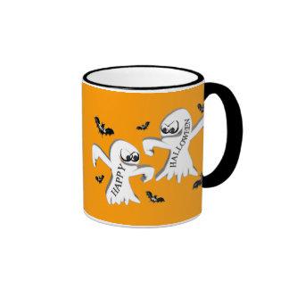 Ghosts and Bats Coffee Mugs