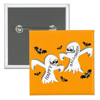 Ghosts and Bats Pins